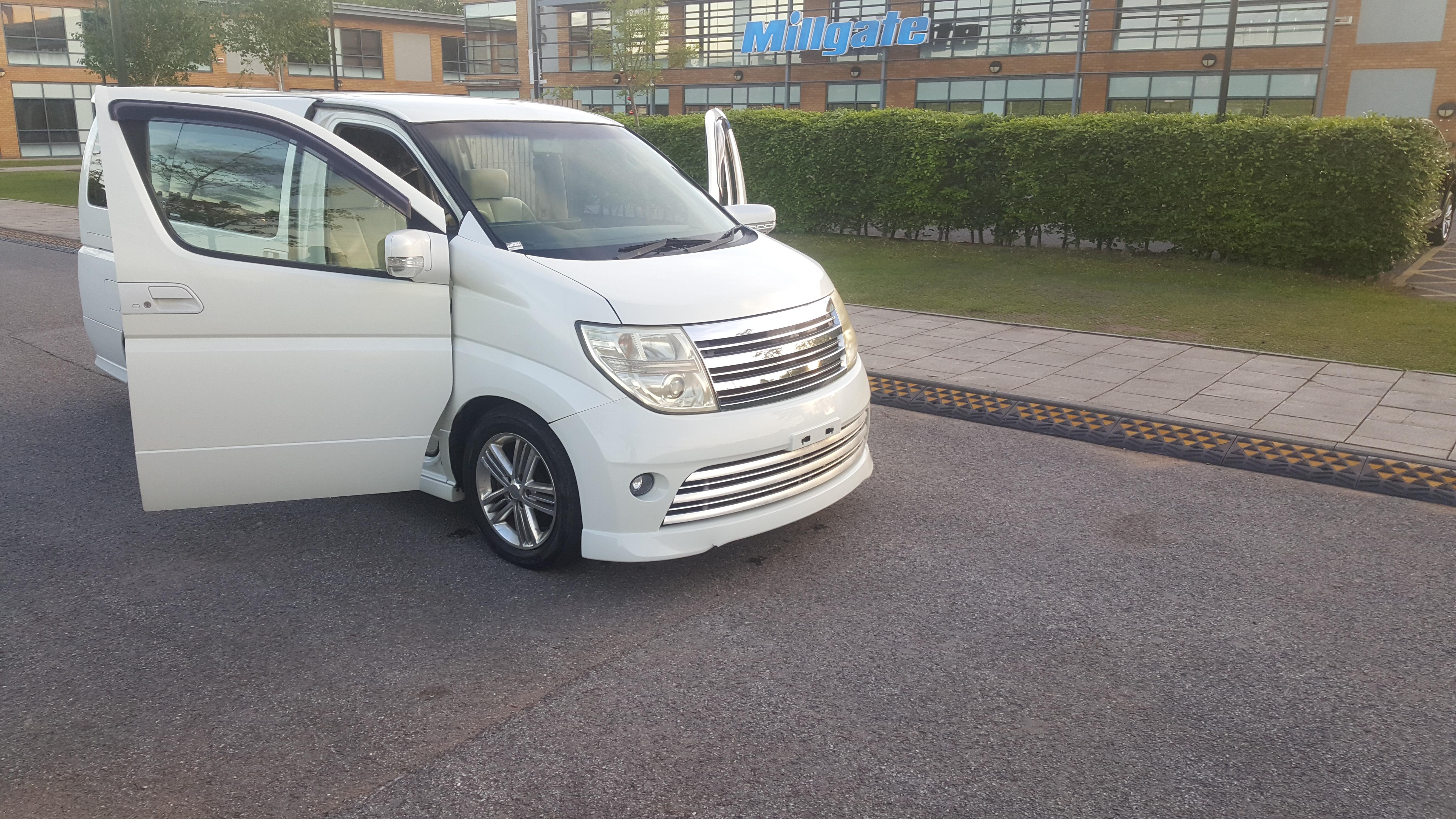 Nissan Elgrand Www Buymotorhomes Co Uk